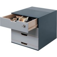 Schubladenbox DURABLE Coffee Point Box, 4 Schubladen