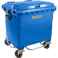 Müllcontainer SSI Schäfer MGB FDP, Flachdeckel-Pedalöffner