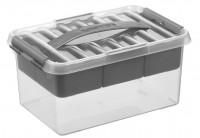 Aufbewahrungsbox Sunware Q-line MultiBox, 6 l