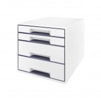 Schubladenbox Leitz WOW CUBE 5213, 4 Schubladen