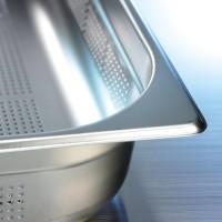 Gelochte Behälter Contacto CUISINE, GN 1/2 - T 100 mm