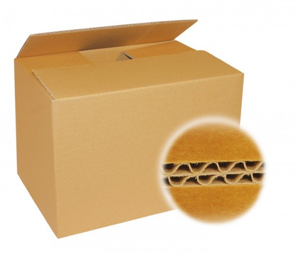 Faltkarton mdf, zweiwellig - 400 x 325 x 330 mm