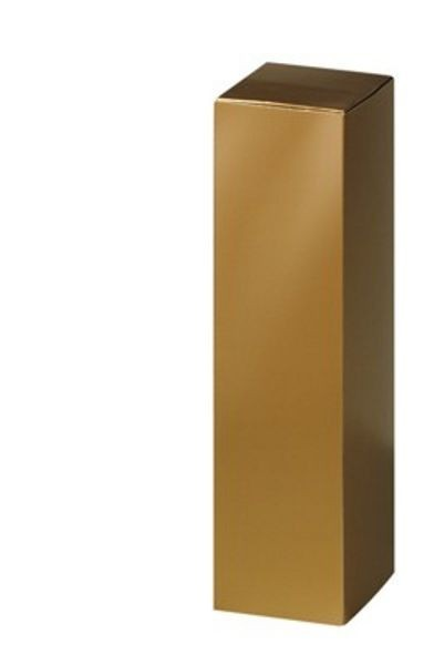 Weinpräsentkarton mdf Gold Magnum, 1er