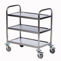 Tischwagen ROLLCART, 3 Etagen
