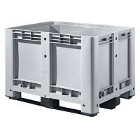Palettenbox Alpha 58, mit 3 Kufen