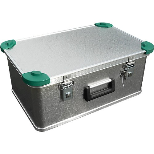 Aluminiumbox Gmöhling A 1539/42 S, mit Stapelecken