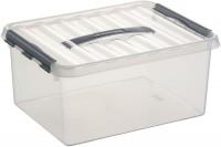Aufbewahrungsbox Sunware Q-line, mit Griff - 15 l