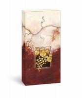 Weinpräsentkarton mdf La Vina, 2er