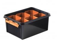 Aufbewahrungsboxen-Set Orthex SmartStore™ PRO 15, 7-teilig