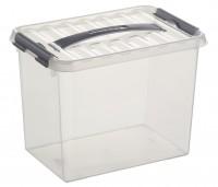 Aufbewahrungsbox Sunware Q-line, mit Griff - 9 l
