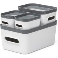 Aufbewahrungsboxen-Set Orthex SmartStore Compact, 4-teilig