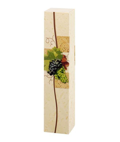 Weinpräsentkarton mdf Rebe, 1er