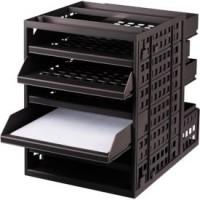 Schubladenbox Ninkaplast, DIN A4, 5 Einschübe