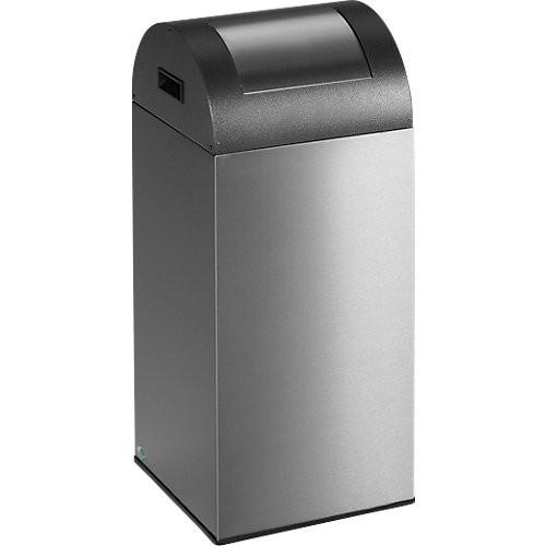 Wertstoff-Abfallsammler VAR 55R, Edelstahl - 60 l