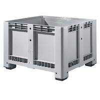 Palettenbox Alpha 99, mit 4 Füßen