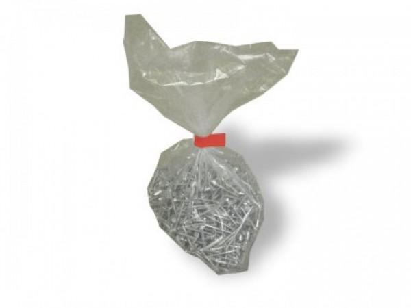 Flachbeutel mdf, 100 µ - L 127 x B 127 mm