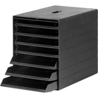 Schubladenbox DURABLE Idealbox Plus, 7 Schubladen