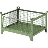 Gitterbehälter SSI Schäfer G 185 S, Stahl, 420 l