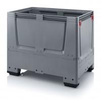 Palettenbox AUER Big Box geschlossen, L 1200 x B 800