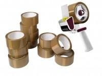 Abroller enviropack, inkl. 12 Rollen Packband