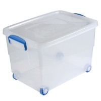 Transportbehälter Denox Professional, mit Rollen