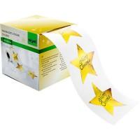 Weihnachts-Sticker Sigel Christmas Stars