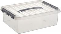 Aufbewahrungsbox Sunware Q-line, mit Griff - 10 l