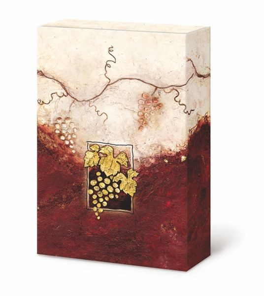 Weinpräsentkarton mdf La Vina, 3er