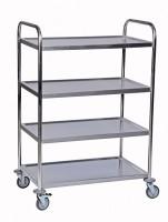 Tischwagen ROLLCART, 4 Etagen