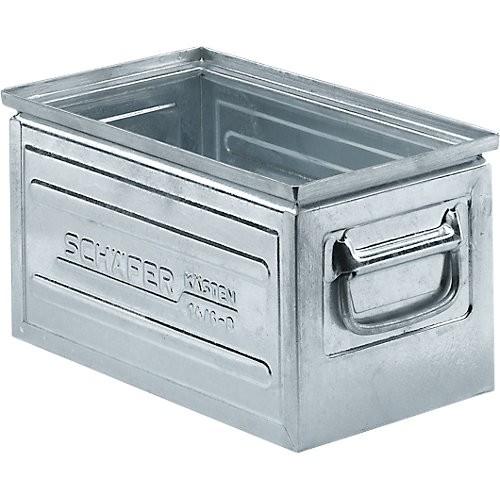 Stapelbox SSI Schäfer 14/6-B, Stahl verzinkt