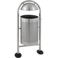 Abfallbehälter Vepa Bins, 27 l - mit Regendach