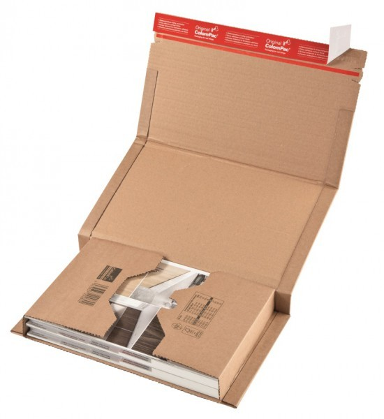 Buchverpackung ColomPac®, DIN C4+