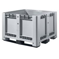 Palettenbox Alpha 99, mit 3 Kufen