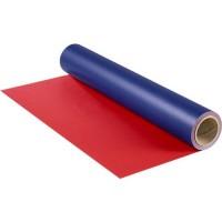 Geschenkpapier PAPYRUS, blau/rot
