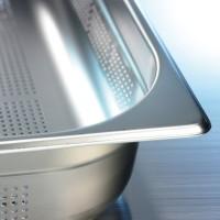 Gelochte Behälter Contacto CUISINE, GN 1/3 - T 65 mm