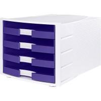 Schubladenbox HAN IMPULS, 4 Schubladen, weiß