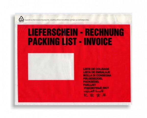 Dokumententasche mdf DIN C5, mit Aufschrift