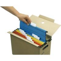 Hängekartei-Klappbox tidyPac TP 040, 10 Stück