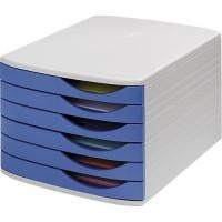 Schubladenbox Jalema, DIN A4, 6 Schubladen
