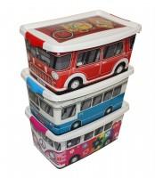Aufbewahrungsboxen-Set SUSA Home Diesel, 9 l