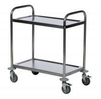 Tischwagen ROLLCART, 2 Etagen