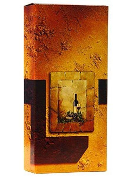 Weinpräsentkartonn mdf Terra, 2er
