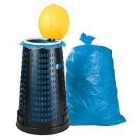 Korbhalterung giganplast 8360M/N, inkl. 100 Säcken, 70-120 l