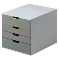 Schubladenbox DURABLE VARICOLOR DIN C4