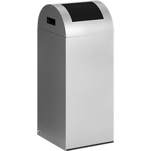 Wertstoff-Abfallsammler VAR 55R, silber - 60 l