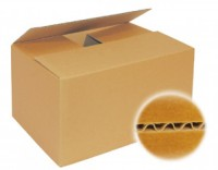 Faltkarton mdf, einwellig - 150 x 150 x 150 mm