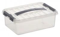 Aufbewahrungsbox Sunware Q-line, mit Griff - 4 l