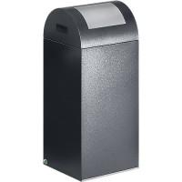 Wertstoff-Abfallsammler VAR 55R, antiksilber - 60 l