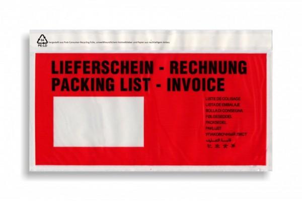 Dokumententasche mdf DIN Lang, Aufschrift - 1000